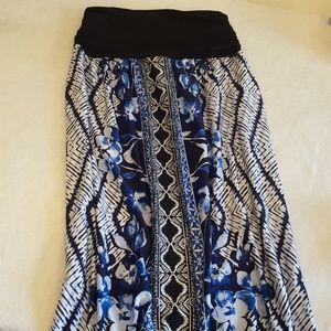 Apt. 9 Print Maxi Skirt, Women's, Size L